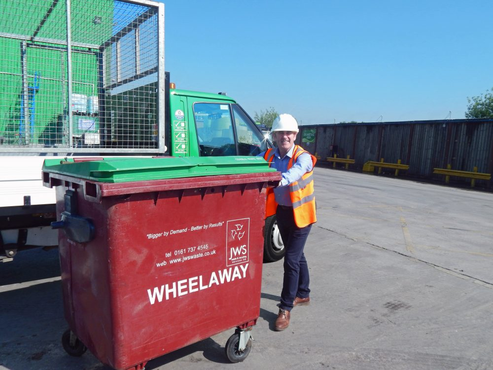 Photo: JWS Wheelie Bin and Tail Lift