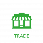 Waste management services for the trade sector